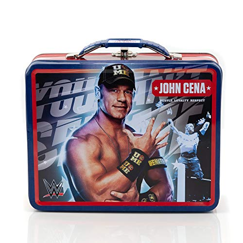 Tin Lunchbox Featuring WWE Superstar Wrestler John Cena Made by 'The Tin Box Company'