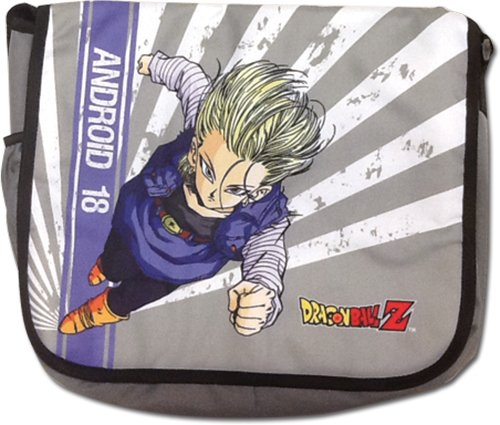 Great Eastern Entertainment Dragon Ball Z - Android 18 Messenger Bag