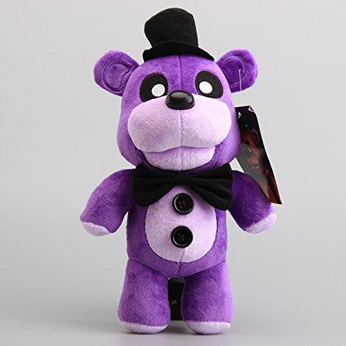 Five Nights At Freddy's Fazbear Bear Purple 12 Inch Toddler Stuffed Plush Kids Toys