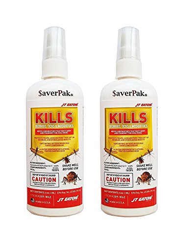 $averPak JT Eaton Kills Bedbugs, Ticks & Mosquitoes Permethrin Clothing & Gear Insect Repellent Pump Spray (6oz)