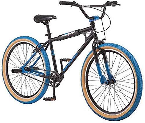 Mongoose BMX Freestyle Bike, Single Speed, 26 inch Wheels, Mens, Black Grudge