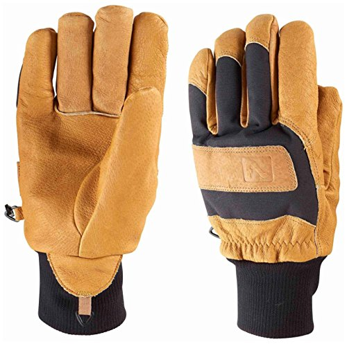 Flylow Magarac Glove - Natural/Black Medium