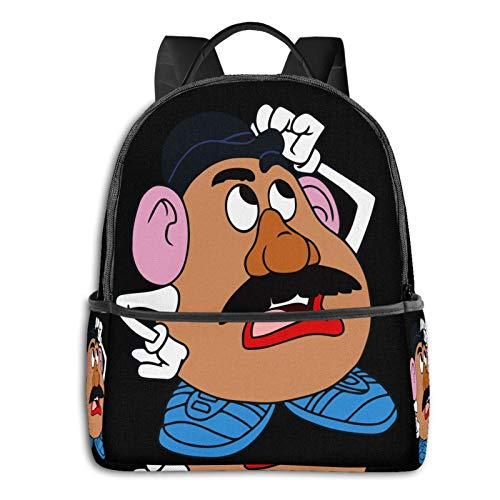 Anime & Mr Potato Head Classic Student School Bag School Cycling Leisure Travel Camping Outdoor Backpack