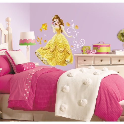 RoomMates Disney Princess - Belle Peel And Stick Giant Wall Decals,Multicolor