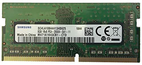 Samsung M471A1K43CB1-CTD 8GB DDR4 2666MHz Memory Module - Memory Modules (8GB, 1 x 8GB, DDR4, 2666 MHz, 260-Pin SO-DIMM, Black, Green)