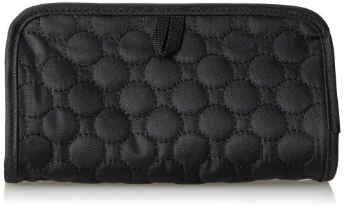 Travelon Jewelry and Cosmetic Clutch Black Quilted, One Size
