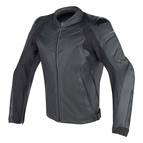 Dainese Fighter Leather Perforated Jacket (54)