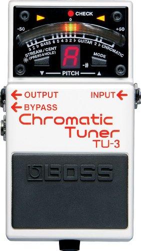 BOSS TU-3 Chromatic Tuner Stompbox (TU3)