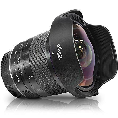 Altura Photo 8mm f/3.0 Professional for Nikon Wide Angle Lens Aspherical Fisheye Lens for Nikon D500 D3000 D3200 D3300 D3400 D3500 D5100 D5200 D5300 D5500 D5600 D7100 D7200 D7500 DSLR Cameras