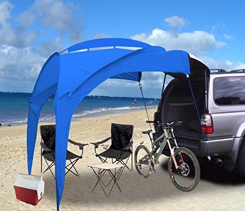 Eurow Tail Gator Sunshade Portable Shade - Blue
