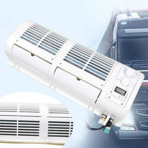 Car Air Conditioning - 12V Car Truck Hanging Air Conditioning Cooler Fan Wall-mounted Evaporator 200W 458m3/H for Car/Caravan/Bus/Truck - Universal
