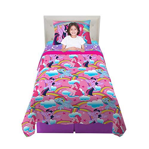 Franco Kids Bedding Sheet Set, 3 Piece Twin Size, Hasbro My Little Pony