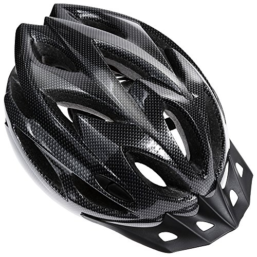 Zacro Lightweight Bike Helmet, CPSC Certified Cycle Helmet Adjustable Size for Adult with Detachable Liner and a Headband, Grey