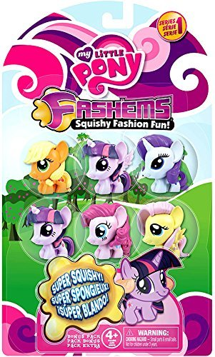 My Little Pony My Little Pony Fash'Ems Series 1 Mini Figure 6-Pack