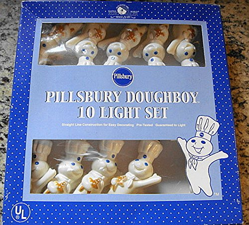 Kurt Adler Pillsbury Indoor/Outdoor Christmas Light