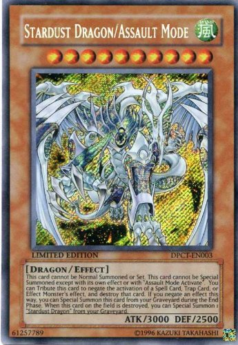 YU-GI-OH! - Stardust Dragon/Assault Mode (DPCT-EN003) - Duelist Pack Exclusive Tin Promos - Limited Edition - Secret Rare