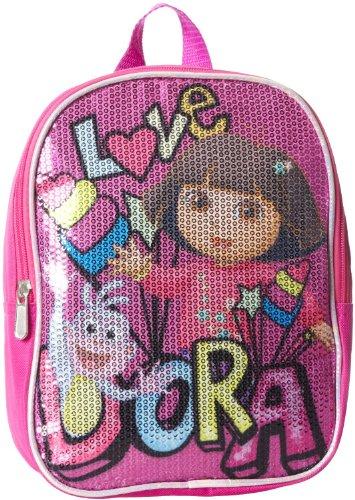 10' Nickelodeon Dora the Explorer Sequin Mini Backpack