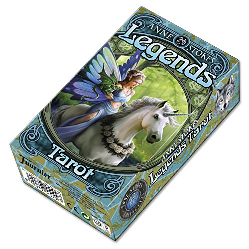 Fournier 1031264 Legends by Anne Stokes Tarot Cards Deck