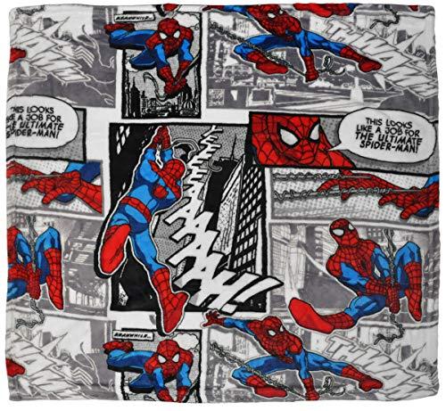 Marvel Comics Spider-Man 30x30' Super Soft Fleece Throw Blanket