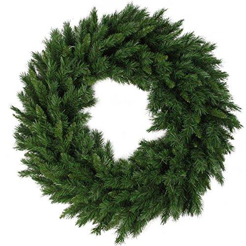 Northlight V04277 Unlit Lush Mixed Pine Christmas Wreath, 48'