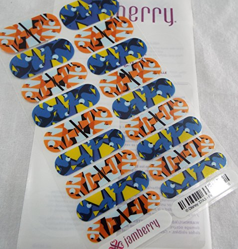 Jamberry Disney Fin Friends 0316 37A3 Full Sheet
