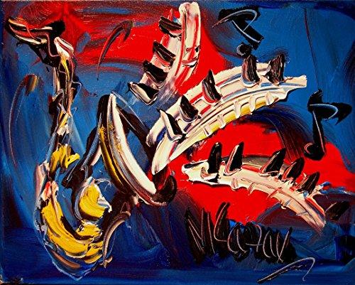 24' Original Paintings - JAZZ SAXOPHONE