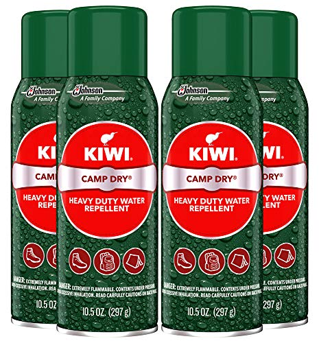 Kiwi Camp Dry Heavy Duty Water Repellent, 4-10.5 oz cans
