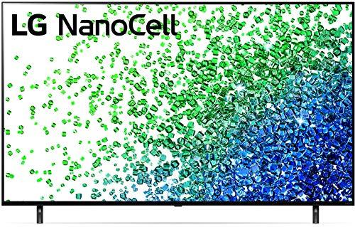 LG 50NANO80UPA Alexa Built-in NanoCell 80 Series 50' 4K Smart UHD NanoCell TV (2021)