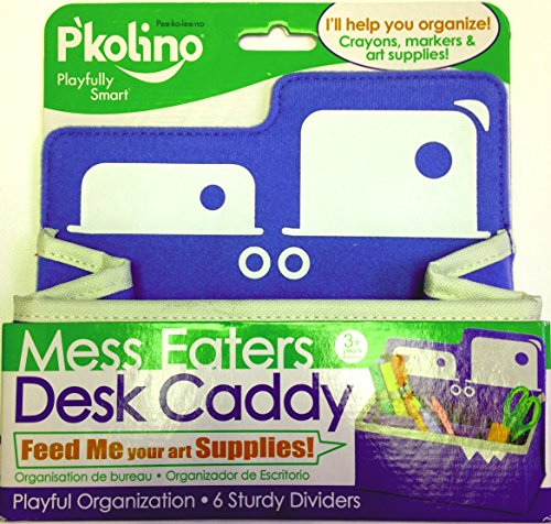 P'kolino Mess Eaters Desk Caddy - Blue