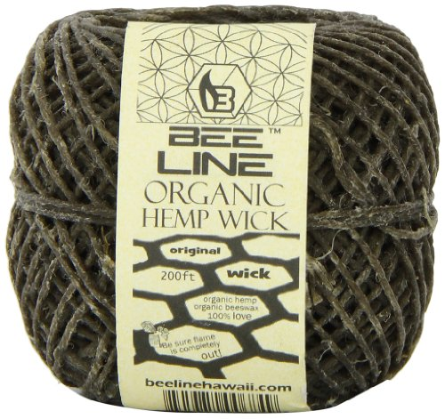 Bee Line Hemp Wick 200 FT Spool Regular Gauge