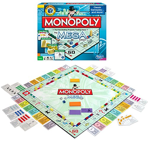 Winning Moves Games Monopoly The Mega Edition