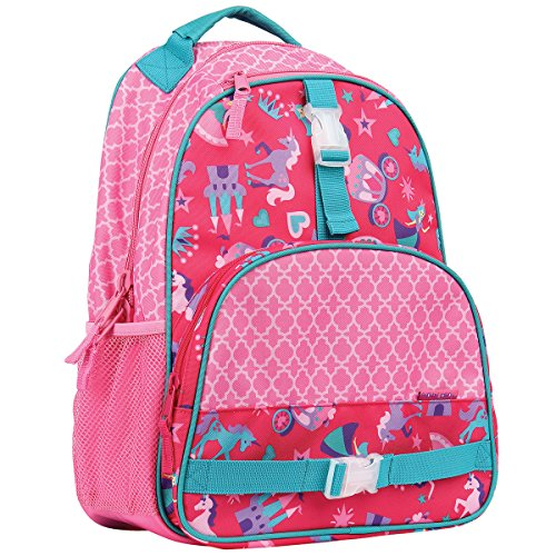 Stephen Joseph girls Princess Backpack, Princess, One Size US