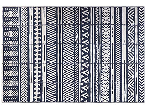 Ivalue Reversible Rug Indoor Outdoor Recycled Plastic Straw Patio Rug Lightweight RV Camping Mat Easy Clean Weather UV Resistant Area Rug Floor Mat for Deck Backyard Front Porch Picnic Beach 6'x9'