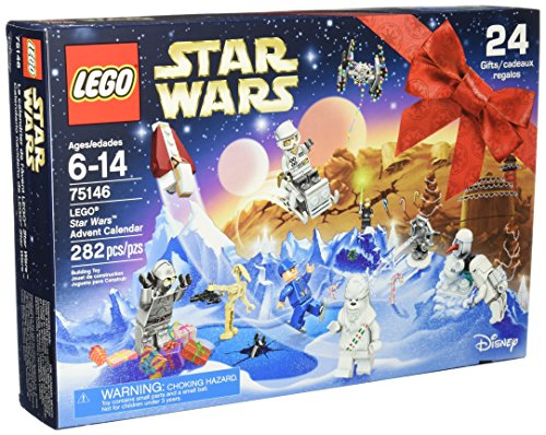 LEGO Star Wars 75146 Advent Calendar Building Kit (282 Piece) (Discontinued by Manufacturer)
