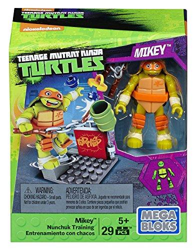 MEGA BLOKS Teenange Mutant Ninja Turtles MIKEY NUNCHUK TRAINING