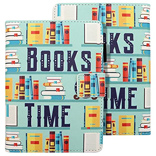 Dteck Case for Kindle Paperwhite (10th Generation 2018, Previous Generation-7th/6th/5th) - Auto Sleep Wake Case, Slim Fit Lightweight Cover, Protective Leather Wallet Flip E-Reader Cover (Cute Books)