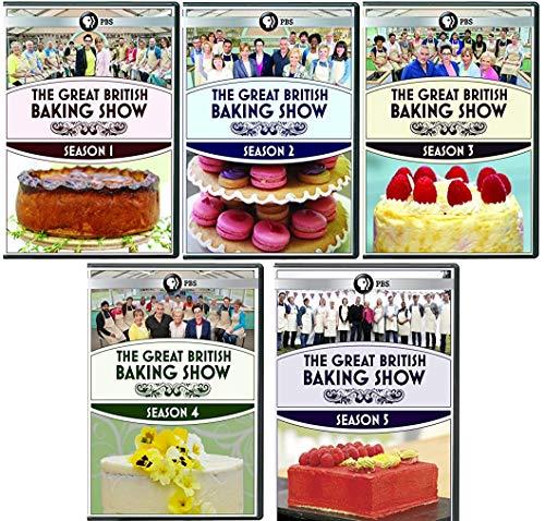 The Great British Baking Show Seasons 1-5