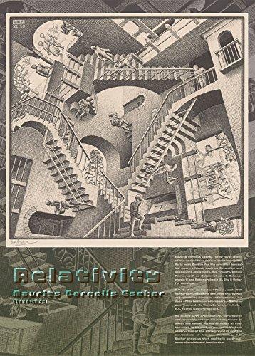 EPOCH 500 Pieces Jigsaw M.C.Escher Relativity (1953) (38x53cm)