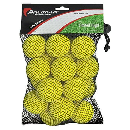 Orlimar Golf Practice Foam Balls (18-Pack)