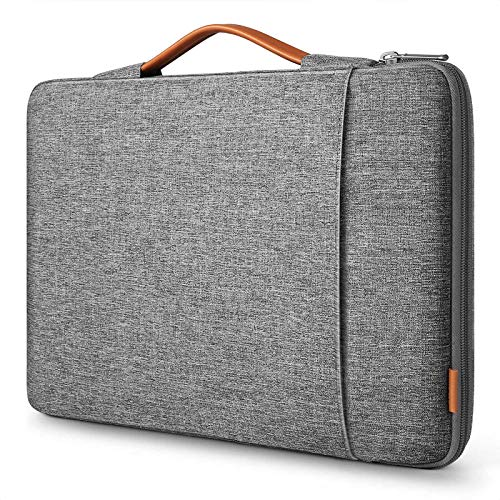 Inateck 360 Protection Laptop Case Sleeve Compatible with MacBook Pro 16 Inch 2019/MacBook Pro 15 Inch 2013-2015/MacBook Pro 15 2016-2019/Surface Book 2/Surface Laptop 3/14 Inch Laptops, Gray