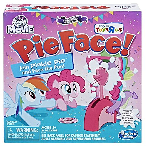 Hasbro My Little Pony The Movie Pinkie Pie Edition Pie Face! Game