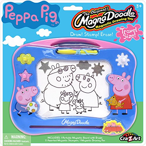 Cra-Z-Art Peppa Pig Travel Magna Doodle - Magnetic Screen Drawing Toy, Multicolor (21017)