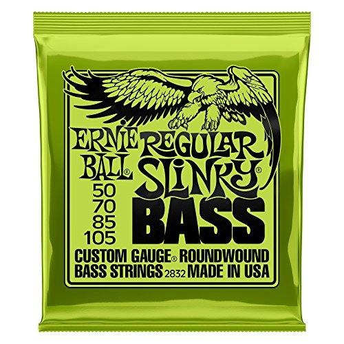 Ernie Ball Regular Slinky Nickel Wound Bass Set, .050 - .105