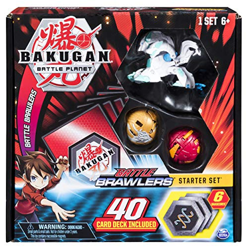 Bakugan, Battle Brawlers Starter Set with Bakugan Transforming Creatures, Haos Howlkor, for Ages 6 and Up