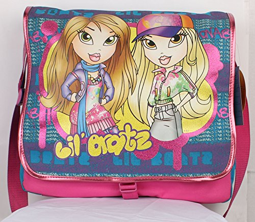 Bratz Messenger Bag FULL SIZE LARGE MESSENGER SHOULDER BAG BOOKBAG