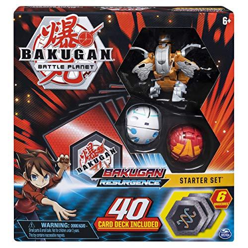 Bakugan, Battle Brawlers Starter Set Transforming Creatures, Aurelus Nobilious, for Ages 6 and Up, Multicolor
