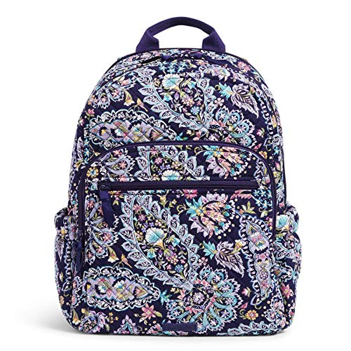Vera Bradley Signature Cotton Campus Backpack, French Paisley