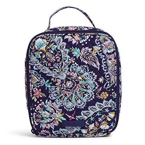 Vera Bradley Signature Cotton Bunch Lunch Bag, French Paisley