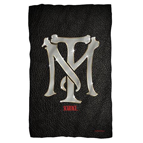 Universal Studios Monogram - Scarface - Fleece Throw Blanket (36'x58')