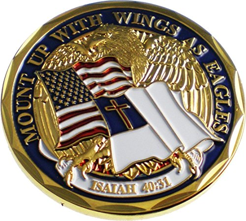 NEW 'Mount Up With Wings As Eagles' Challenge Coin